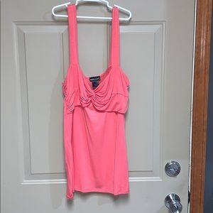 Coral wet seal tank top
